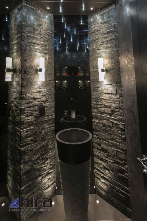 Free standing black marble pedestal sink bathroom 90 cm x for Black marble shower