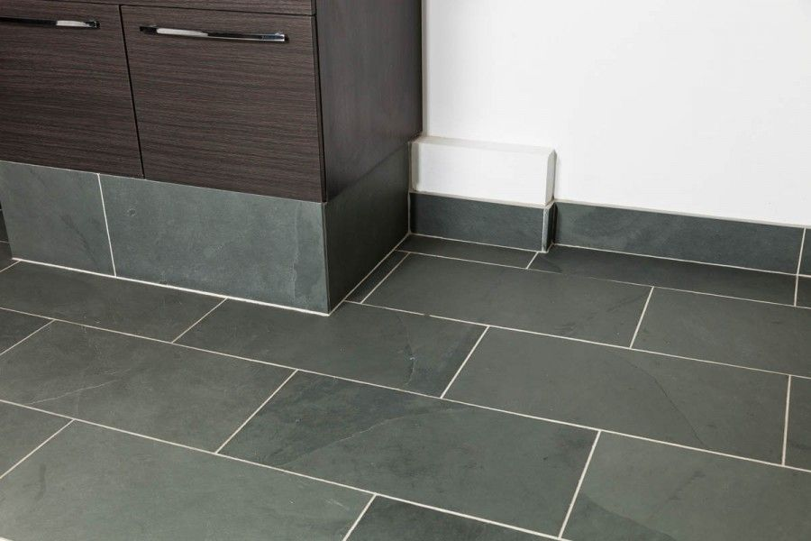 Grey Calibrated Brazilian Slate Tiles 600 Mm X 300 Mm X 10