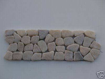 Onyx Marble Mosaic Interlocking Border Tiles