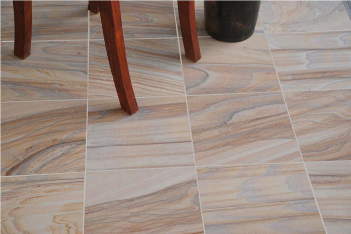 Rainbow Sandstone Tiles 600 Mm X 300 Mm X 12mm Approx