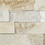 Sample Cream Quartz Split Face Mosaic Tile