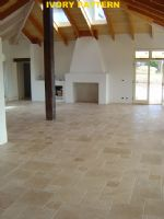 travertine tile (opus romano)